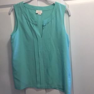 Mint color blouse